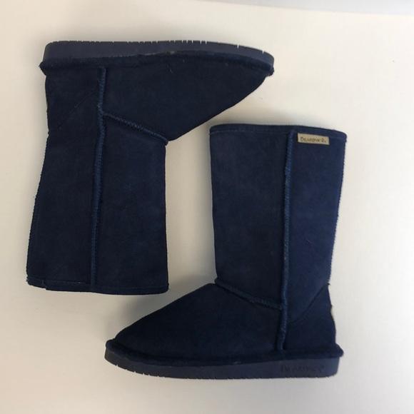 BearPaw Shoes | Bearpaw Navy Blue Boots